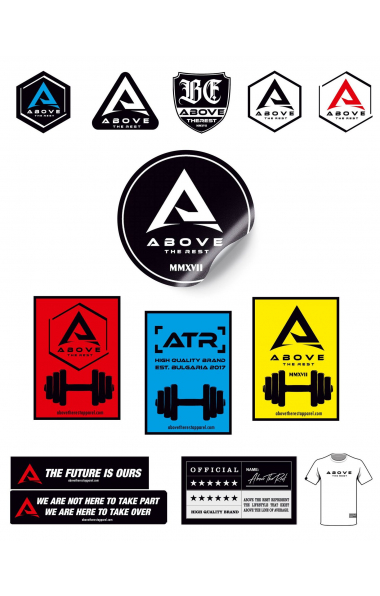 Стикери Above The Rest 13 Pack